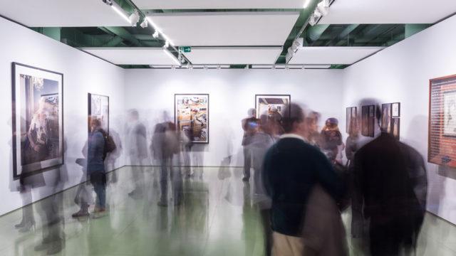 Artistas Portugueses y Españoles reunidos en una exposición en Lisboa