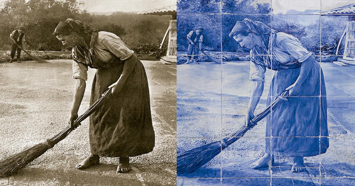 De la Fotografia al azulejo