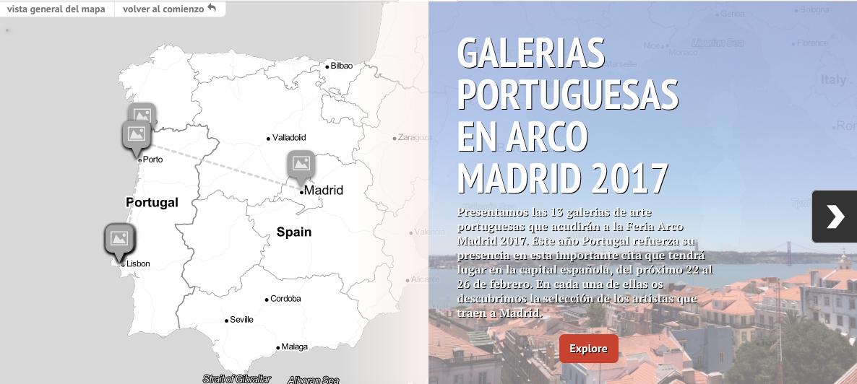 GALERIAS PORTUGUESAS EN ARCO MADRID 2017