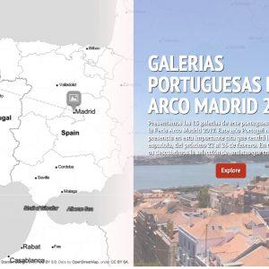 GALERÍAS PORTUGUESAS ARCO MADRID