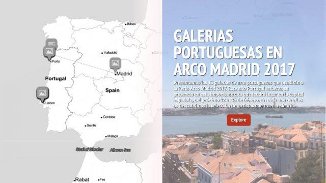 GALERÍAS PORTUGUESAS EN ARCO MADRID 2017
