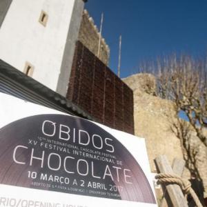 Festival Internacional do Chocolate de Óbidos.