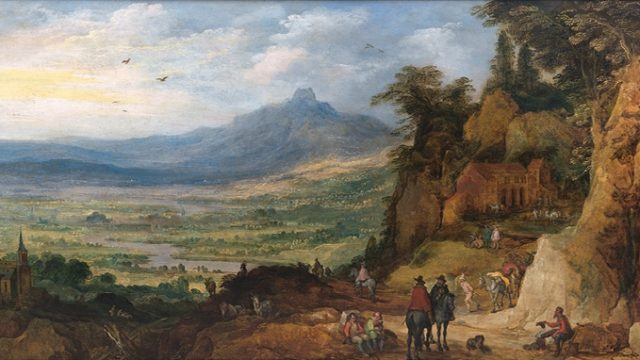 Exposición de RUBENS a VAN DYCK, en Cascais
