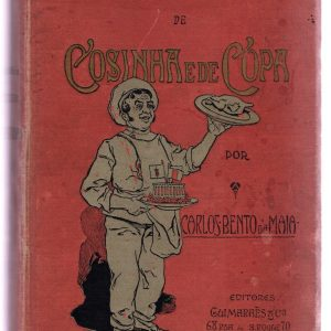 Libro con la primera receta de Buñuelos de Bacalao de Carlos Bento