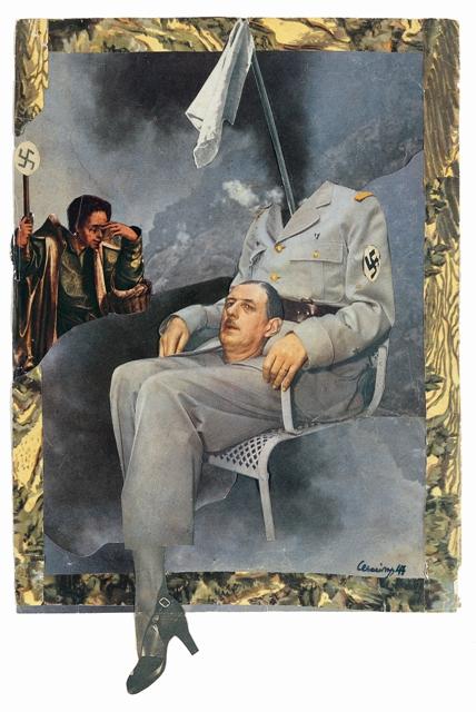 Retrato del General Degaulle por Mário Cesariny