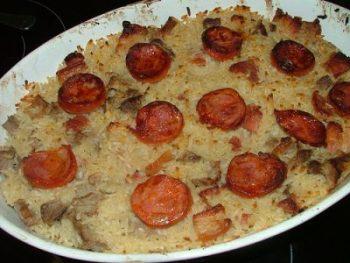 Arroz de pato, un plato contundente y delicioso