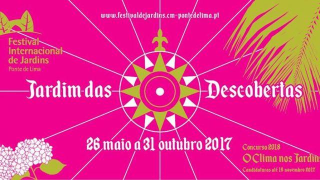 Festival Internacional de Jardines de Ponte de Lima 2017
