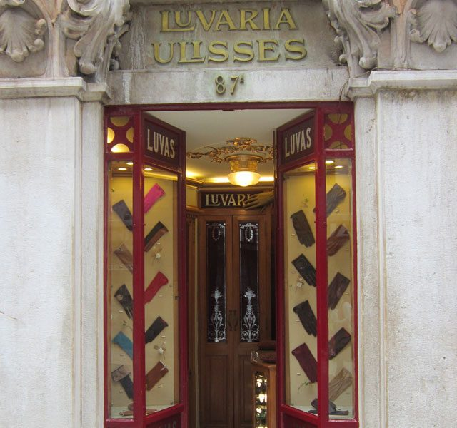 Tiendas Históricas Luvaria Ulises