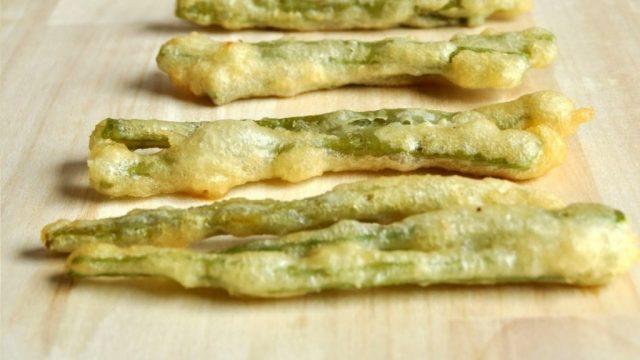 Peixinhos da horta, a tempura portuguesa