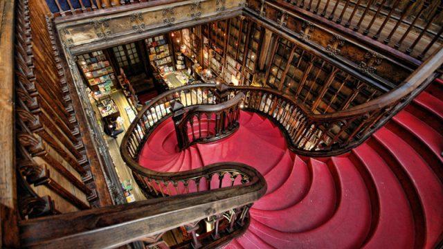 Librerías históricas de Portugal
