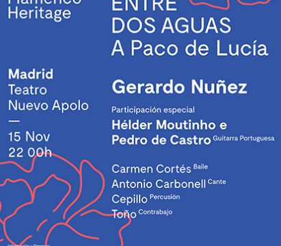 Hélder Moutinho, invitado en el Tributo a Paco de Lucía
