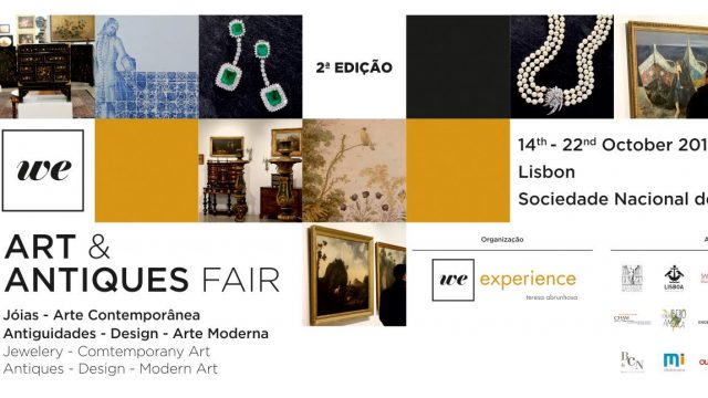 2ª Edición WE- Art & Antiques Fair en Lisboa