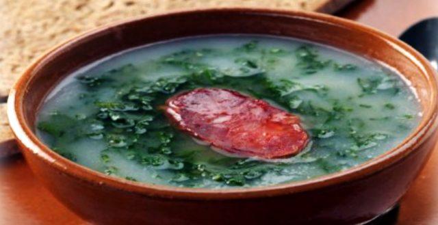 Caldo Verde, la sopa más famosa de Portugal