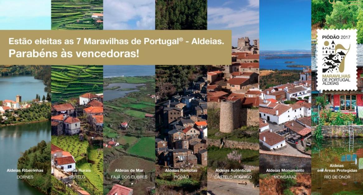 As 7 aldeias mais bonitas de Portugal