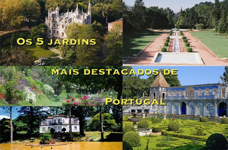 Os 5 jardins mais destacados de Portugal
