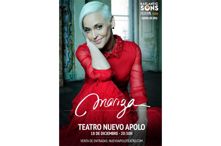 Mariza actúa en el Teatro Nuevo Apolo de Madrid