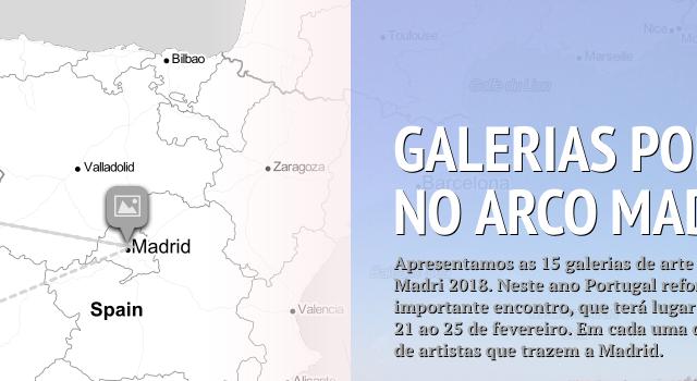 GALERÍAS PORTUGUESAS EN ARCO MADRID 2018