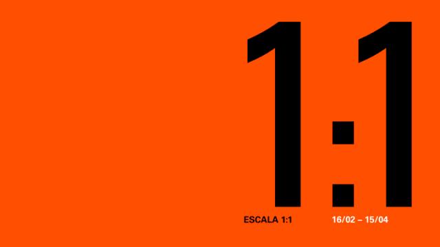 Escala 1:1 Exposição de artistas portugueses em Madrid