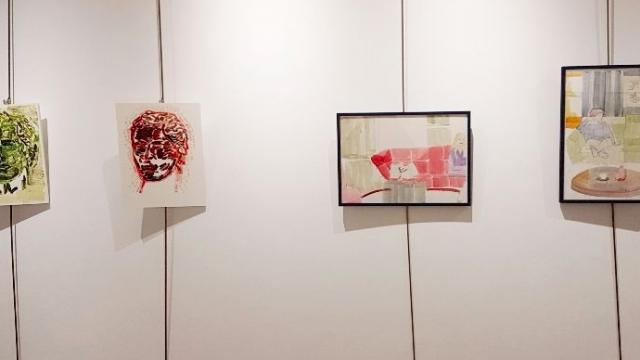 Exposição de Carina Cabrita em Salamanca