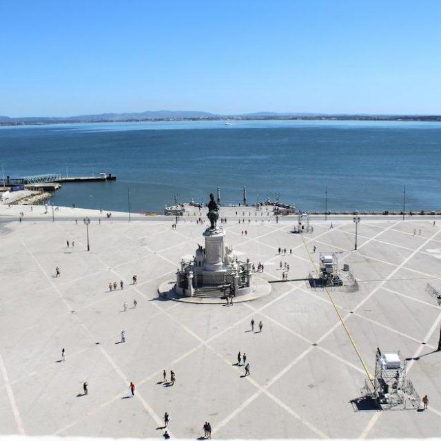 Miradores de Lisboa, Arco da Rua Augusta