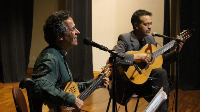 João Afonso em Espanha junto a Rogério Pires