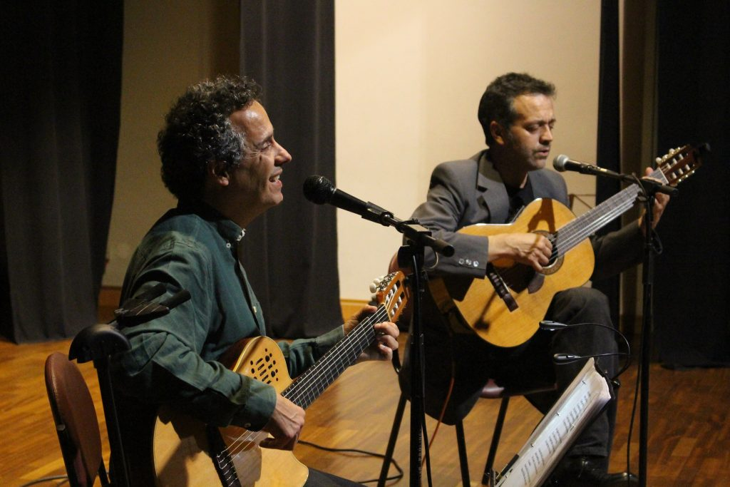 João Afonso en España junto a Rogério Pires