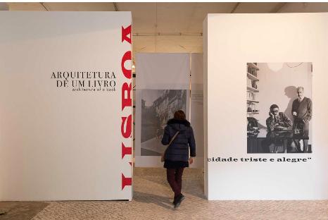 Exposición: Lisboa ciudad triste y alegre: Arquitectura de un libro