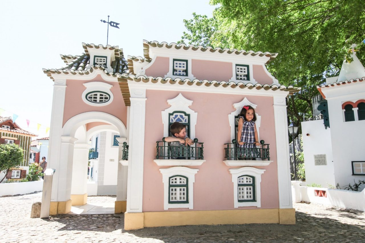 El Portugal de los pequeñitos, el parque de los niños en Coimbra