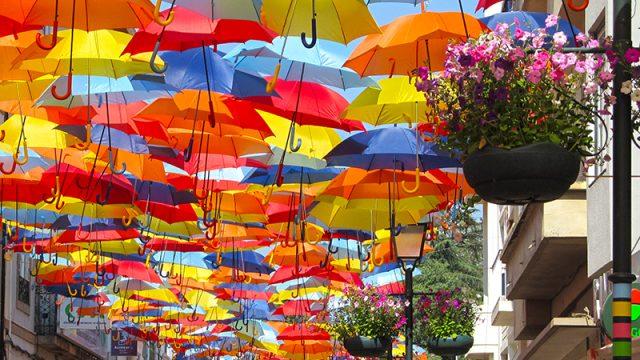 Agitágueda, el festival que llena de color el centro de Portugal