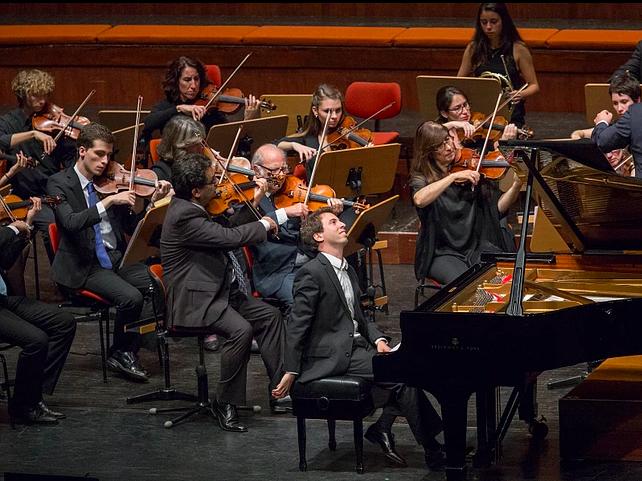 Actuación del pianista António Mont´Alverne  en Madrid