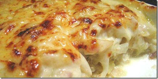 Bacalhau com natas, uma das receitas mais famosas de Portugal