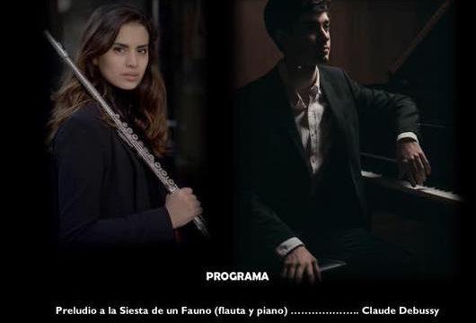 Concierto de piano y flauta de João Barata y Ana Ferraz
