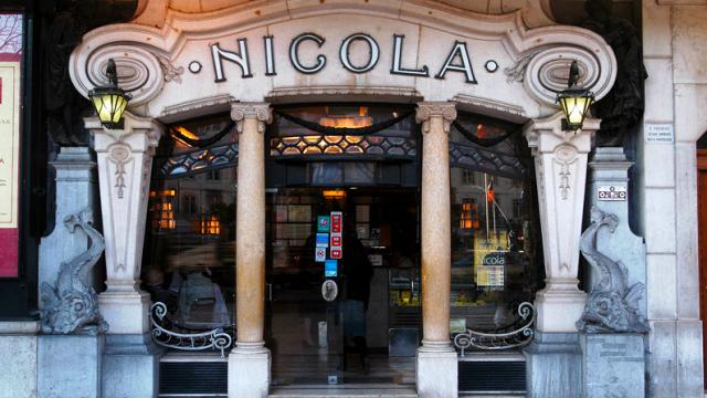 Cafés históricos de Lisboa