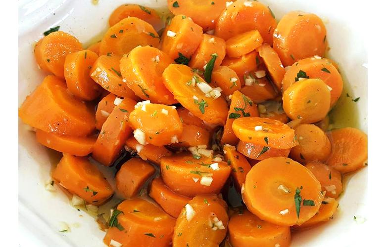 Ensalada de Zanahoria a la moda del Algarve