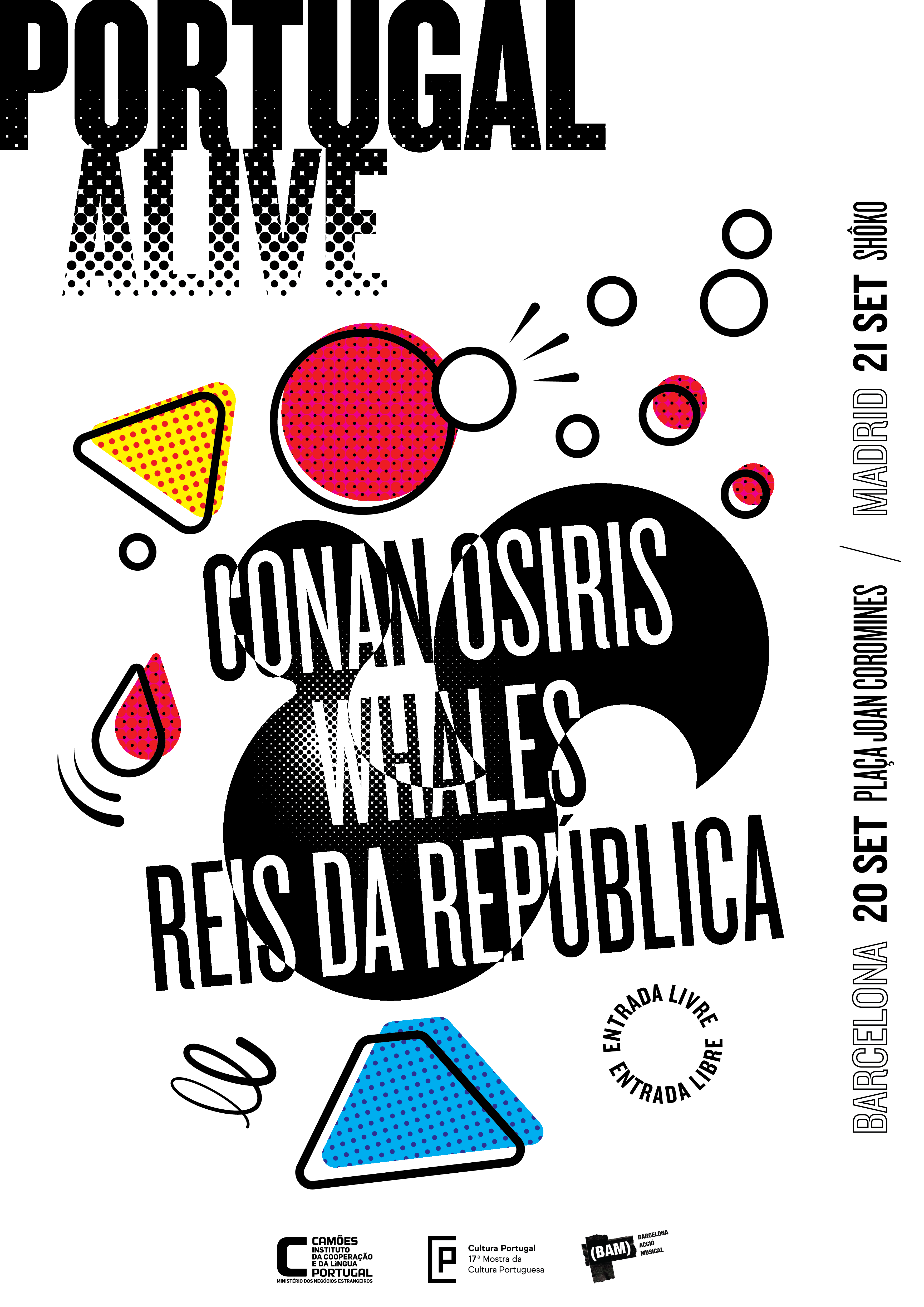 Festival Portugal Alive em Madrid e Barcelona