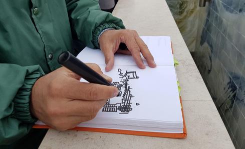 Desenhar Madrid e Lisboa – Curso Richard Câmara