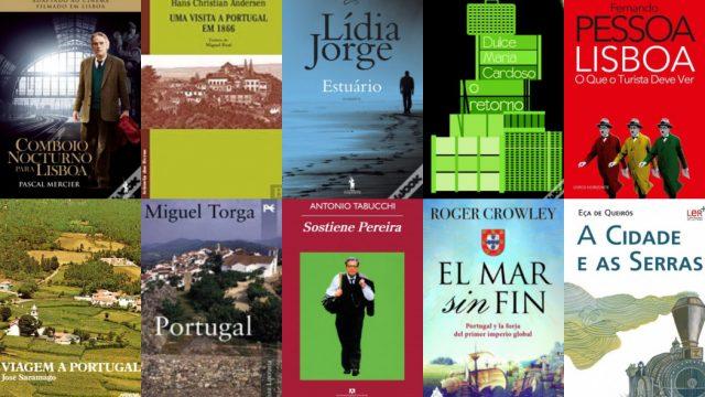 10 livros para viajar a Portugal desde casa