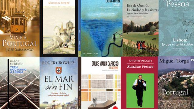 10  fascinantes libros  para  viajar  a Portugal